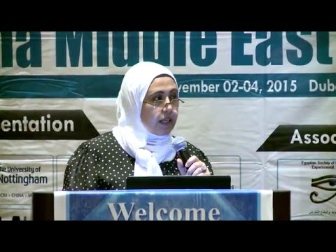 Amina Mahdy | UAE | Pharma Middle East 2015| Conference Series LLC