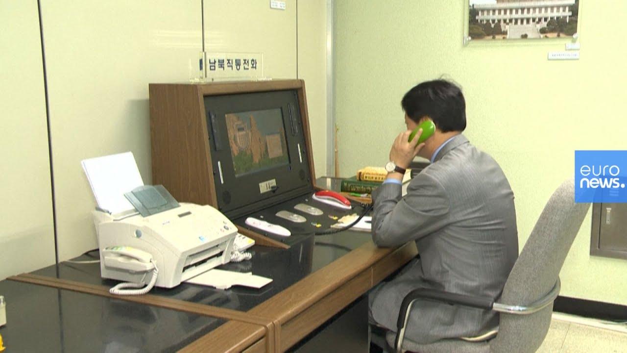 شاهد.. الجهاز  الذي يستعمل للتواصل والمحادثات بين الكوريتين الشمالية والجنوبية  - نشر قبل 2 ساعة