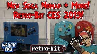 New Sega Nomad! Wireless N64 Controllers & More! Retro-Bit CES 2019 Announcements!