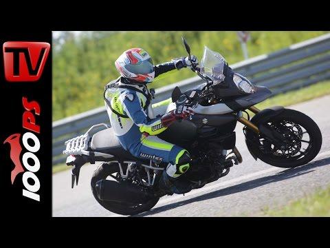 Suzuki V-Strom 1000 Test 2016 | Big Enduro Melken