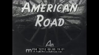 "HISTORY OF THE AUTOMOBILE  FORD MOTOR COMPANY DOCUMENTARY ""THE AMERICAN ROAD""  72712"