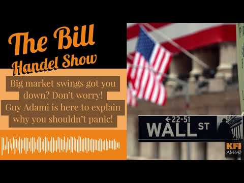 Guy Adami on with Bill Handel to talk about the wild day on Wall Street