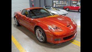 SOLD 2006 Sunset Orange orvette Z06, Ebony interior, 505hp and 2LZ for sale by Corvette Mike