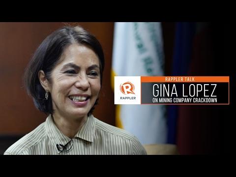 Rappler Talk: Gina Lopez on mining company crackdown