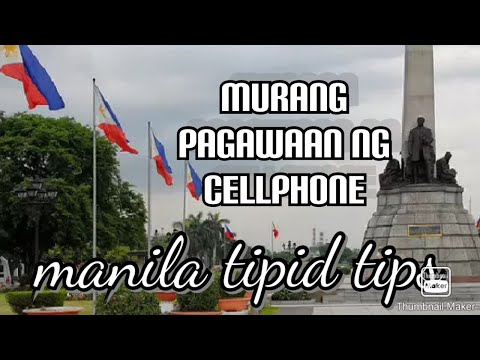 MANILA TIPID TIPS   CELLPHONE REPAIR all kinds of cellphone