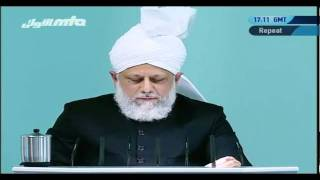 (French) Friday Sermon15 Oktober 2010 Part 4/4