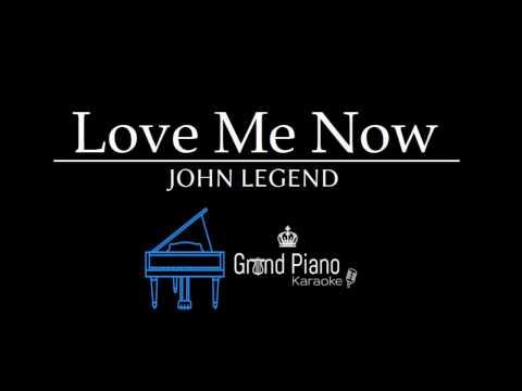 Love Me Now - John Legend | Piano Karaoke Cover (lyrics) Instrumental