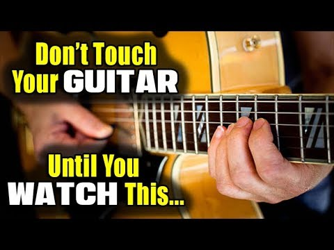 Don't Touch Your Guitar Until You Watch This! (RHYTHM STUDY)