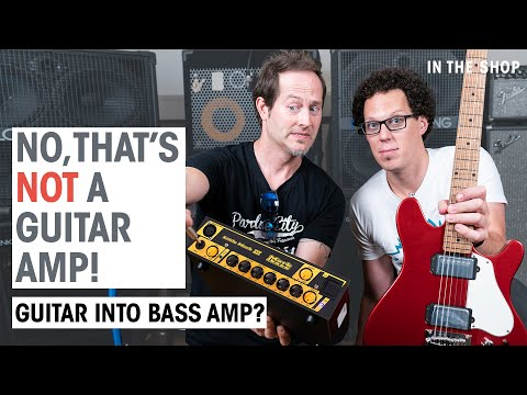Can You Play Guitar Through A Bass Amp? | In The Shop Episode #43 | Thomann