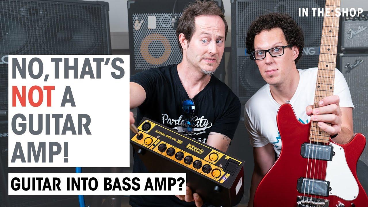 Can you play guitar through a bass amp? | In the Shop Episode #43 | Thomann