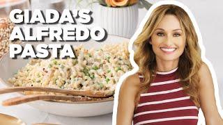 Giada De Laurentiis Makes Lemon and Pea Alfredo | Food Network