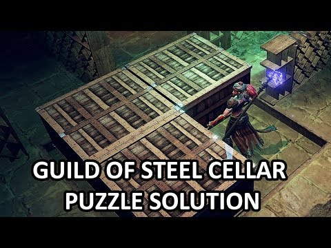 Shadows: Awakening - Guild of Steel Cellar Box Puzzle Solution