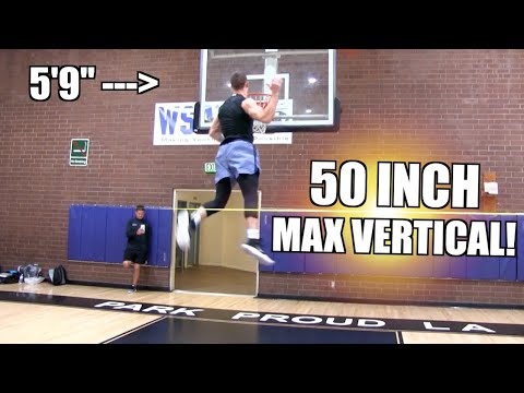 """50 Inch Max Vertical!! 5'9"""" Riley Smith is INSANE!"""