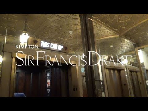 NICE Westinghouse Traction Elevators-Sir Francis Drake Hotel-San Francisco, CA