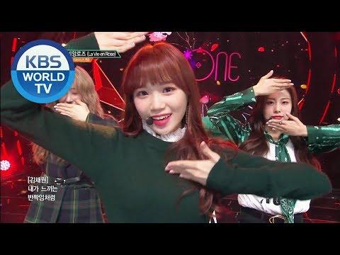IZ*ONE - La Vie En Rose | 아이즈원 - 라비앙로즈 [Music Bank / 2018.11.09]