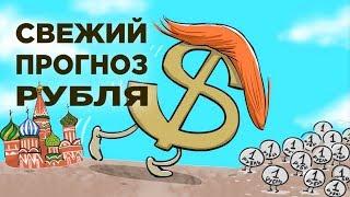 Смотреть видео Курс рубля. Когда закончится рост? Свежий прогноз курса доллара онлайн