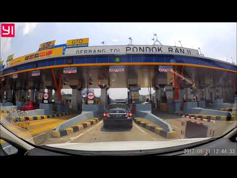 JORR Highway Tol Ciledug BSD - Yi DVR Dashcam Video Test