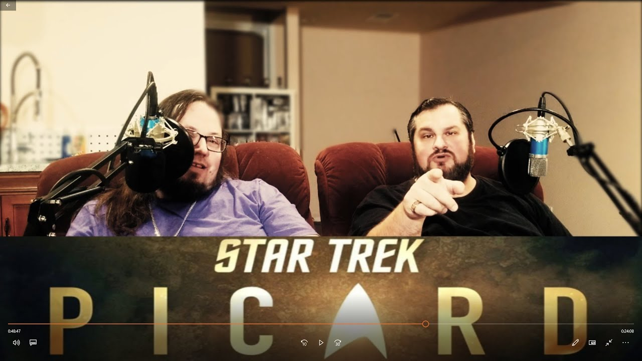 Rant and Watch Engages with Star Trek Picard - Episode 1 [SPOILERS!]