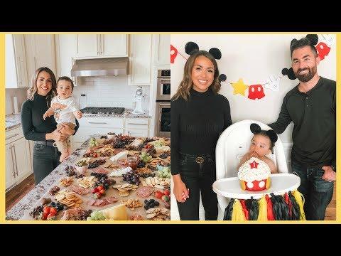 1ST BIRTHDAY PARTY PREP | FOOD, DECOR & MORE