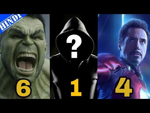 Top 10 Most Powerful Superheroes of All Time | Marvel | Top 10 Superheroes | Explained in Hindi