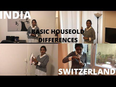 5 Household Differences India vs Switzerland || Radio Fee