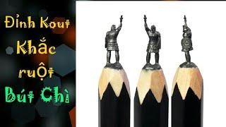 Những sáng tạo điêu khắc trên đầu bút chì Siêu Chất