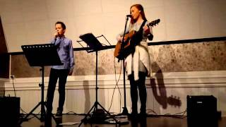 Home for Christmas- Maria Mena (Cover by Andrea Svendsen & Marcus Solheim)