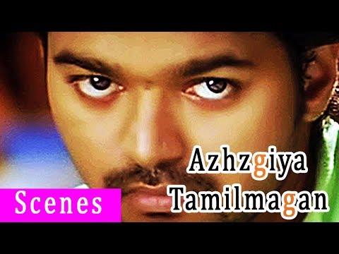 Azhagiya Tamil Magan vijay mass scenes | Shriya saran gets confused on vijay | Vijay wins the race