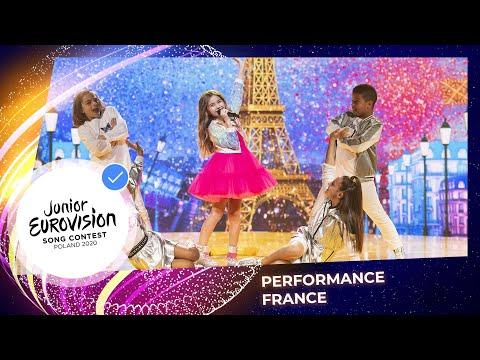 France 🇫🇷  - Valentina from France performs J'imagine at Jun