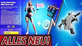 NEUE BURST SMG 💯🔥 & SEASON 9 STARTER PACK 😍 KOMMEN! | Fortnite Battle Royale