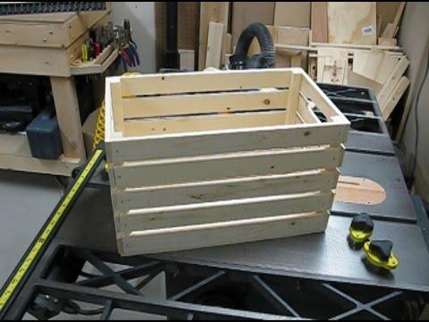 Outside Wood Storage Box