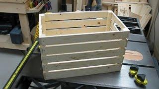 2x4 Challenge - Storage Bins