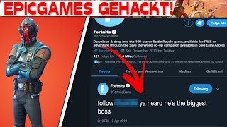 EPIC GAMES IS HACKED! | Fortnite Twitter account hacking attack