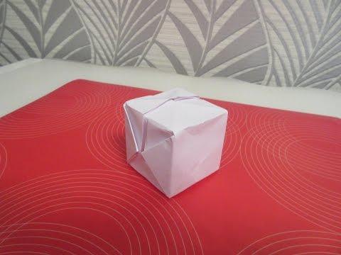 Как сделать кубик из бумаги своими руками поэтапно
