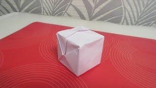 Как сделать кубик из бумаги  Оригами(, 2014-10-10T16:33:46.000Z)