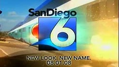 "FOX 6 ""News at Ten"" generic open-  (XETV - San Diego )"