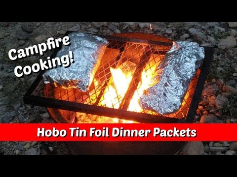 Hobo Tin Foil Dinner Packets ~ Campfire Camp Cooking ~ Amy Learns To Cook