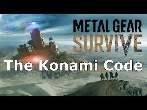 Metal Gear Survive - Hidden Messages Attacking Konami
