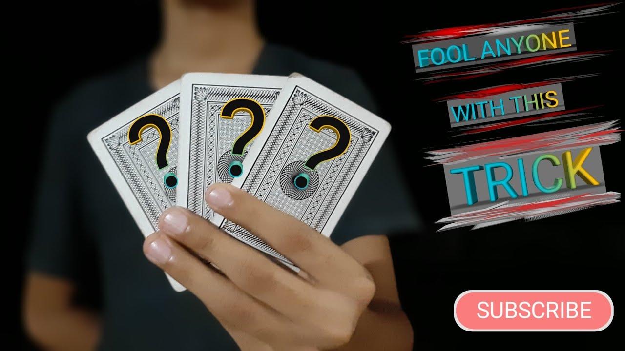 card illusions tutorial magic trick easy card magic