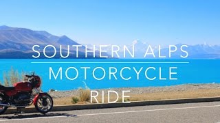 3 day Southern Alps Motorcycle Ride, South Island, New Zealand - BMW R80s - Motovlog Documentry
