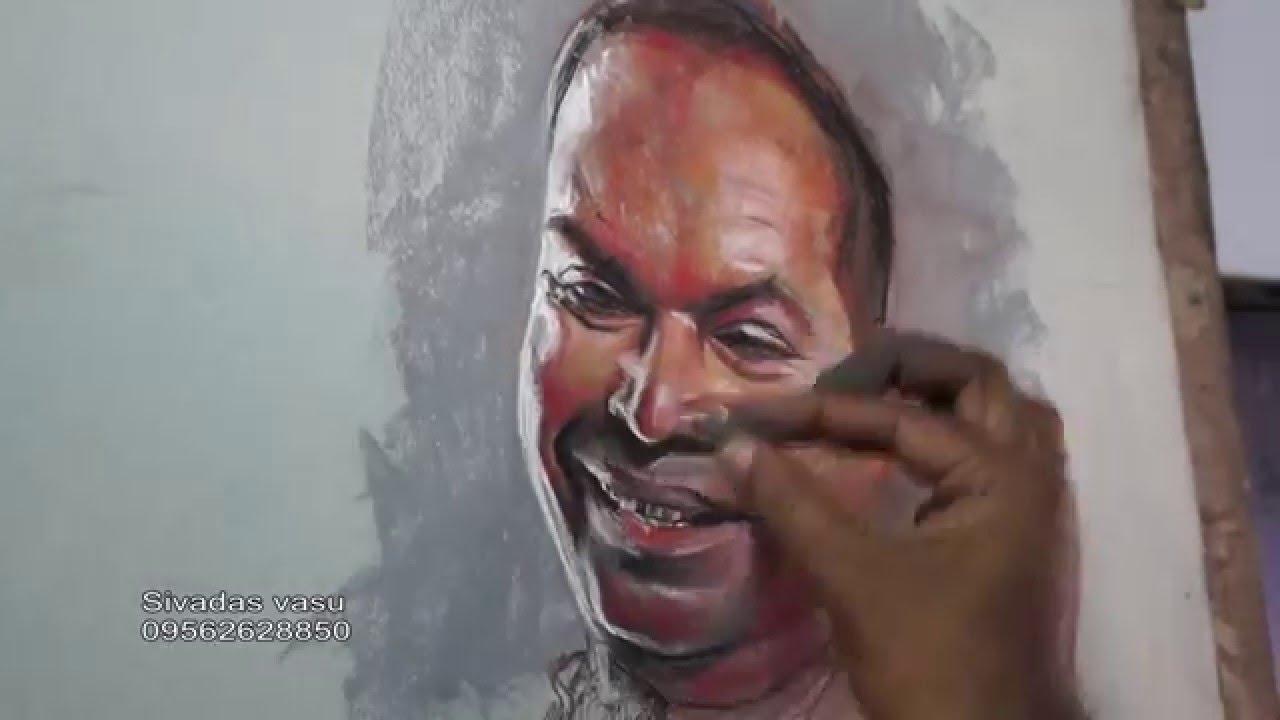 Pastel portrait painting youtube ccuart Images