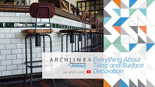 Everything About Tiling and Surface Decoration - ARCHLine.XP Webinar