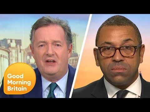 Piers Presses James Cleverly on the Tory Party 'Doctored' Video of Keir Starmer | GMB