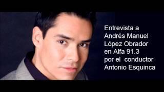 Repeat youtube video AMLO entrevista con Toño Esquinca 6 de junio de 2012