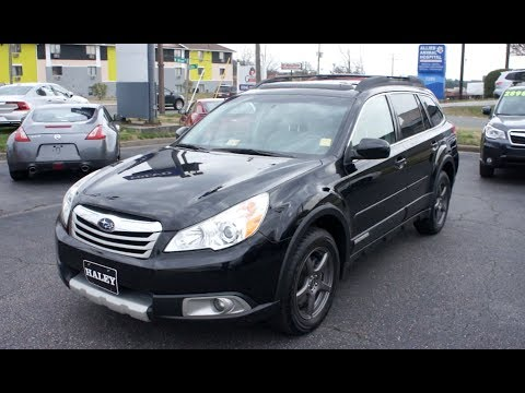 2011 Subaru Outback 3.6R Walkaround, Start up, Tour and Overview