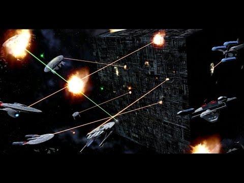 [7] Star Trek Legacy - CUSTOM Battle Of Wolf 359 [Borg Win]