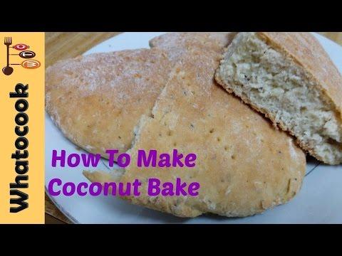 Trinidad 🇹🇹 Coconut Bake Recipe