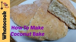 Trinidad 🇹🇹 Coconut Bake Recipe