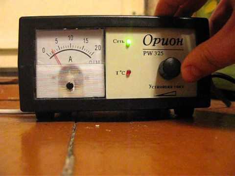 Орион PW325 стрелка амперметра
