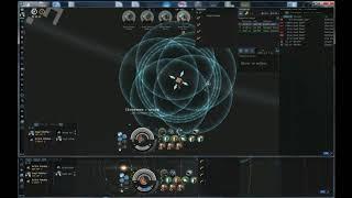 EVE online Tengu в 2 окна